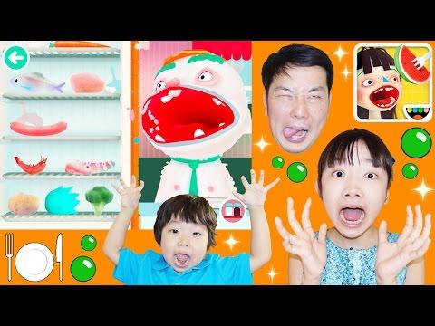 ★「ゲップしすぎ~!激辛&激マズ料理も作ったよ!」トッカ・キッチン2★Toca Kitchen 2★