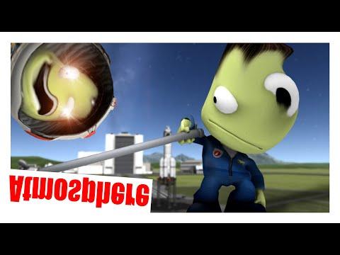 Kerbal Space Program but the atmosphere is upside down... |