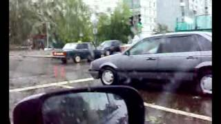 Последствия урагана в Иваново 13 июня 2010