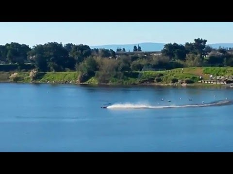 rc boat at quarry lakes fremont