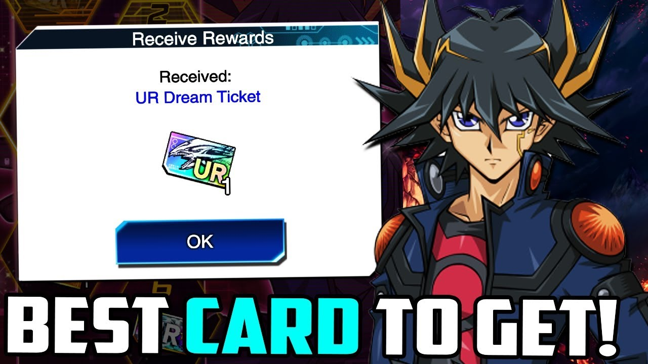 The BEST Cards To Get With Your Yu-Gi-Oh! Duel Links 5D'S UR Dream Ticket!