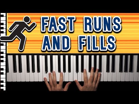 Beginners Guide to Runs and Fills on the Piano