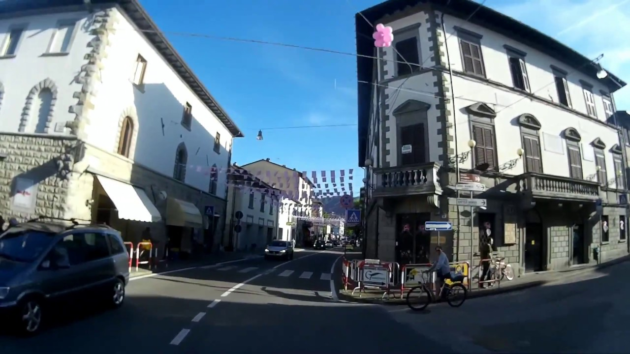 Bagno di Romagna: benvenuto Giro d'Italia! - YouTube