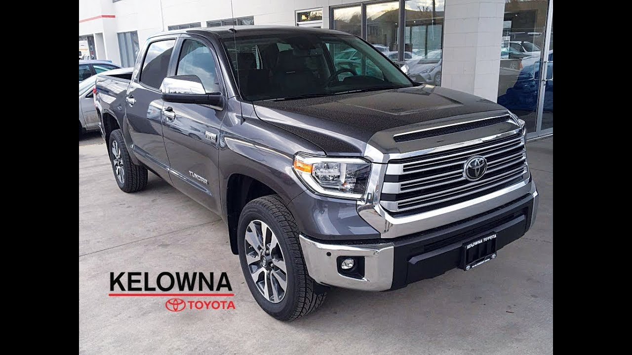 2018 toyota tundra crewmax limited magnetic grey youtube. Black Bedroom Furniture Sets. Home Design Ideas