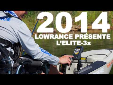 Lowrance Elite-3x Launch Video (FR)