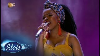 Top 3 Reveal: Yanga – 'Mkulumsebenzi' – IdolsSA | Mzansi Magic