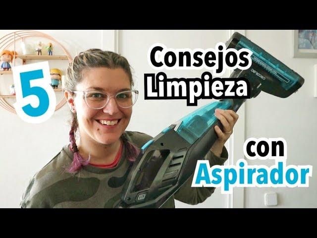 5 TRUCOS DE LIMPIEZA   Orden y Limpieza en el Hogar con Aspiradora   OPINION CONGA ERGOEXTREME