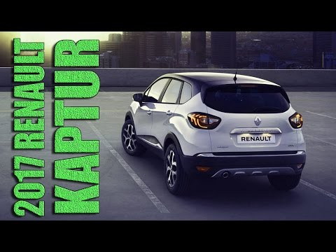 2017 Renault Kaptur - the Russian Version of European Captur
