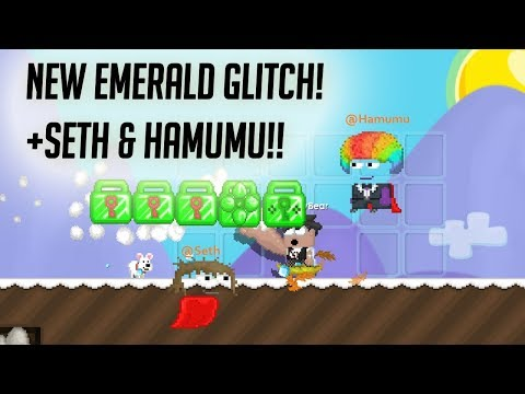 New emerald Glitch + Seth & hamumu!! :( - Growtopia ** MUST WATCH**