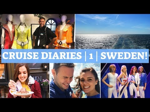CRUISE DIARIES VLOG 1 | Formal Night, Exploring Stockholm, Sweden & The Abba Museum!