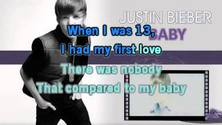 JustinBieber- Baby Karaoke with lyrics