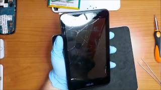 Asus Fonepad 7 (k012) (FE170CG)  Disassembly  and repair touch