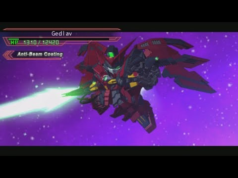 SD Gundam G Generation Overworld - Gundam Epyon and Aquarius Attacks