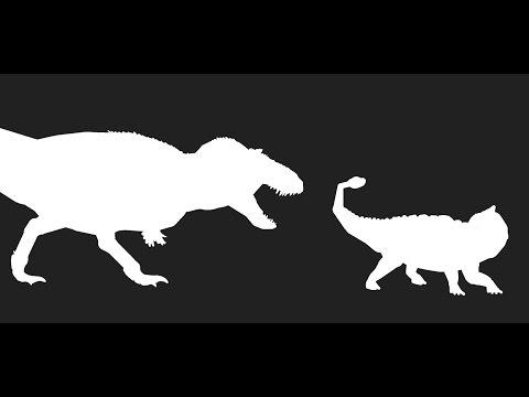 PACAK2017-Hell creek battles Tyrannosaurus vs Ankylosaurus