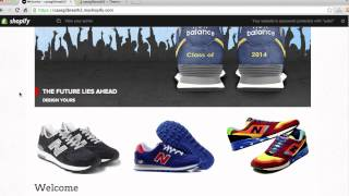 How To Create An Online Store Using Shopify | 2014