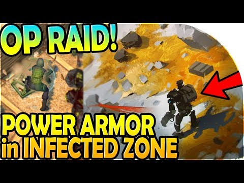 POWER ARMOR in INFECTED ZONE - WHY is this RAID SO GOOD?! - Last Day On Earth Survival 1.7.12 Update