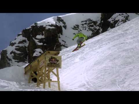 Freeskiing competition - Red Bull Cold Rush 2012