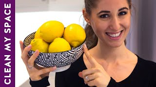 10 Useful Things You Can Clean with Lemon: Cleaning Ideas to Save Time & Money (Clean My Space) Thumbnail