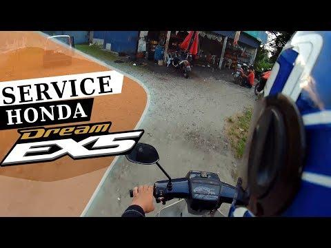 SERVIS HONDA EX5 DREAM | MOTOVLOG Ex5