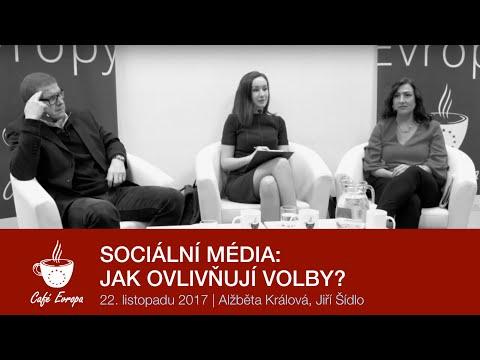 Café Evropa: Sociální média - Jak ovlivňují volby?