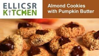 Almond Cookies with Pumpkin Butter