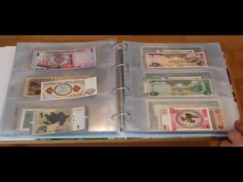 Banknotensammlung - Präsentation meiner Sammlung von Banknoten - World Wide Paper Money Collection