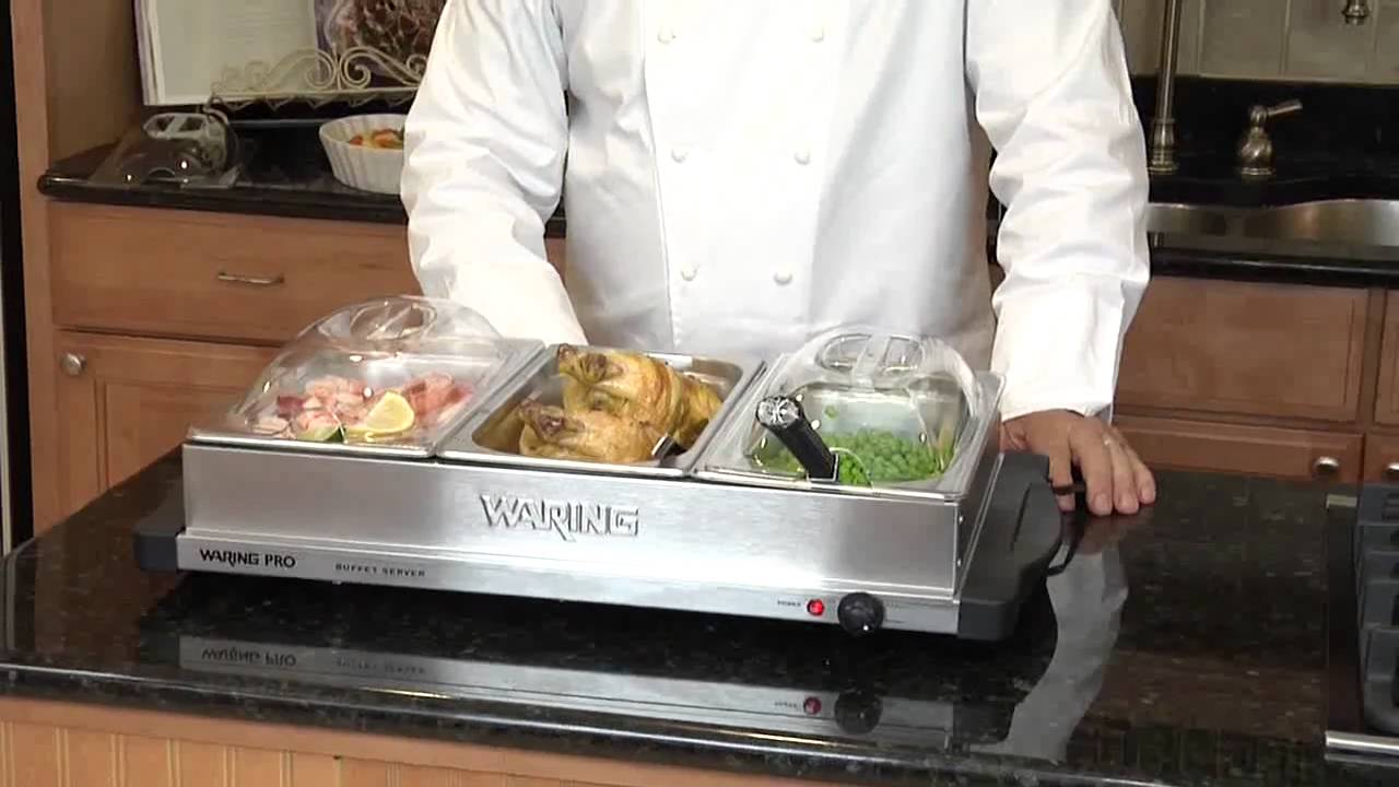 Waring Pro BFS50B Professional Buffet Server - YouTube