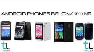 Android Phones Below 5000 Rs | Feb 2014
