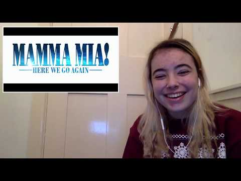 MAMMA MIA 2: Here We Go Again - TRAILER REACTION [Vlogmas Day 21]