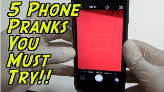 5 Phone Pranks You Can Easily Do - HOW TO PRANK - (Evil Booby Traps) | Nextraker
