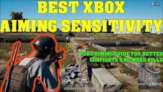 Xbox One Tips Advanced Aiming/ Best Sensitivity Guide - PUBG Personal Trainer Ep 4