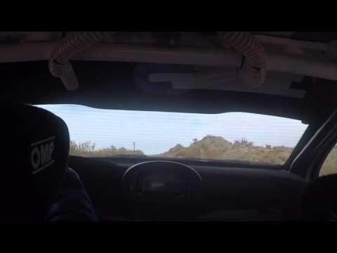 Así maneja un piloto del Rally Nacional por los caminos de la comarca petrolera