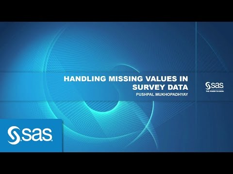 Handling Missing Values In Survey Data
