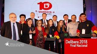 Torneo Delibera 2018: final nacional en Valparaíso