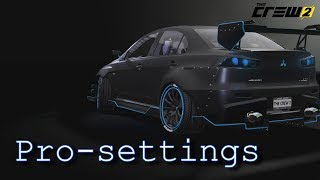 The Crew 2: Pro-settings (top vehicles)