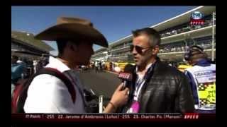 Matt LeBlanc at F1