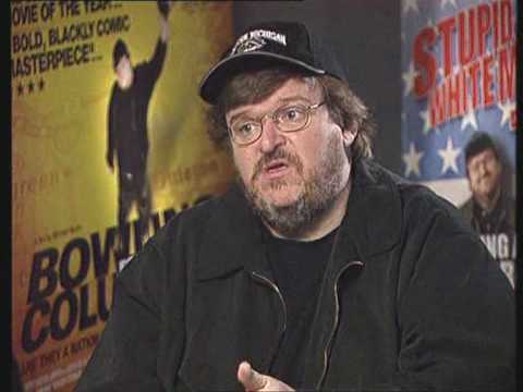 Michael Moore interview about Bowling for Columbine Part 1/2