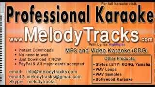 Yeh hai reshmi zulfon ka andhera - Asha bhosle KarAoke - www.MelodyTracks.com