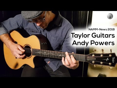 NAMM 2018: Taylor Guitars Master Luthier Andy Powers