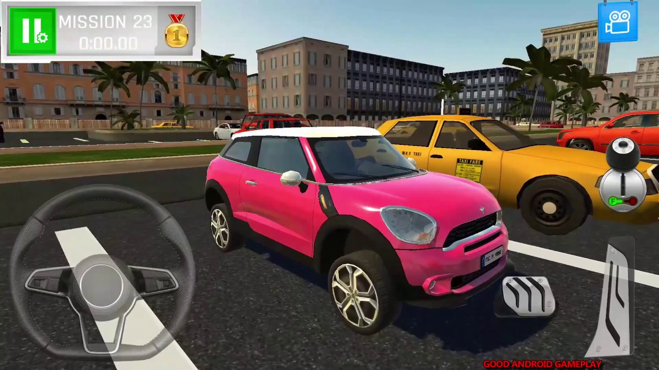 670528b058f Shopping Mall Car Driving 2018 #5 - REAL Mini Cooper (Micro) Vehicle  Unlocked Android GamePlay FHD
