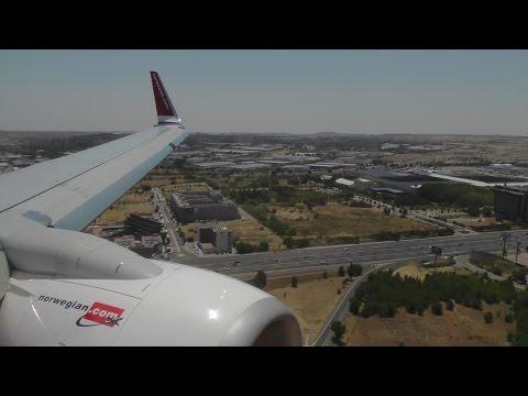 Norwegian Boeing 737-800 ✈ FULL FLIGHT Birmingham to Madrid Barajas
