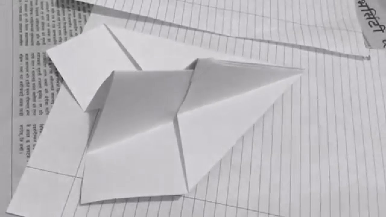 how to make a wooden airplane that flies