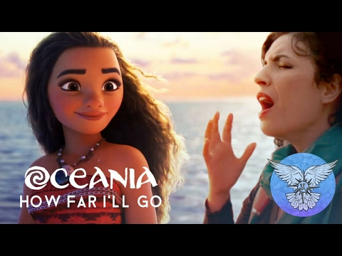 Oceania Oltre l'orizzonte | How far I'll Go from Moana Disney cover ita