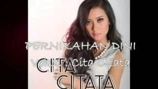 Video Pernikahan Dini_CITA CITATA Official Musik Terbaru 2016 download MP3, 3GP, MP4, WEBM, AVI, FLV Oktober 2017