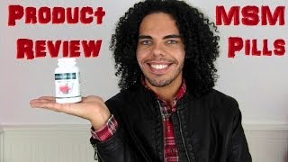 MSM 1000mg Pills for Hair Growth,Better Skin..... Product Review Vitamin Pills Hairfinity