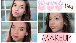 ♡ Three Valentines Day Makeup Looks!♡ Thumbnail