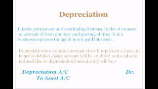 Accounting course in Hindi and Urdu Depreciation lecture 43