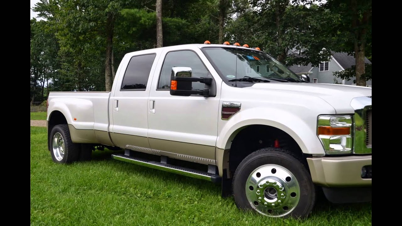 F 450 King Ranch >> 2010 Ford F-450 Dually King Ranch - YouTube
