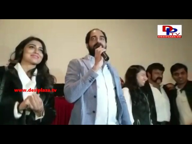 BalaKrishna, Shreya & Krish in NewJersy - Gautami Putra Satakarni on | January 20th 2017