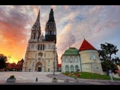 Zagreb  old city tour , Croatia in Ultra 4K